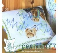 Dog and Pony Cushion - 12-6105 - 8ct