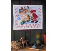 Feeding The Reindeer Christmas Advent Calendar - 34-5212