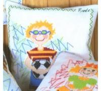 Footballer Cushion Kit - 12-6110 - 8ct