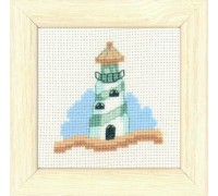 Lighthouse Seaside Mini - 14-6187 - 14ct