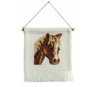 Little Brown Horse Hanging - 13-2392 - 8ct
