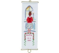 Little Girl Confirmation Bell Pull - 36-6132 - 19ct