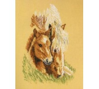 Mother and Foal Study - 90-6161 - 14ct