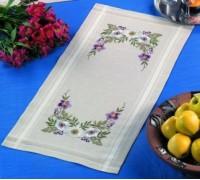 Passion Flower Table Runner - 63-5721