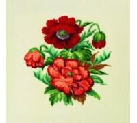 Poppy Floral Posy - 70-7068 - 28ct