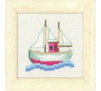 Sailing Boat Seaside Mini - 14-6186 - 14ct