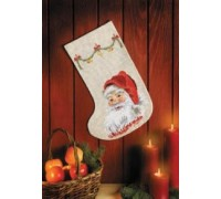 Santa Claus Christmas Stocking - 41-3250