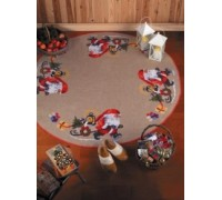 Santa Claus with Gifts Tree Skirt - 45-5218