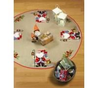 Santa With Lantern Tree Skirt - 45-6210