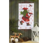 Santa's Christmas Tree Advent Calendar - 34-6200