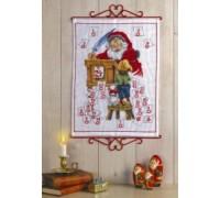 Santa's Desk Advent Calendar - 34-4222