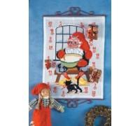 Santa's Kitchen Advent Calendar - 34-9207