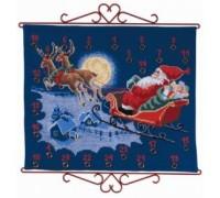 Santa's Sleigh Advent Calendar - 34-5211