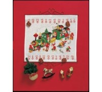 Santa's Train Advent Calendar - 34-8225