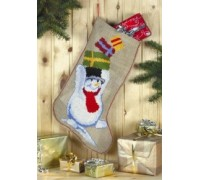 Snowman Christmas Stocking - 41-6209
