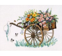 The Flower Cart - 70-3121 - 14ct