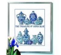 The Treasure of China Blue Sampler - 70-5482 - 30ct