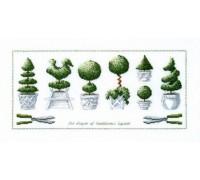 Topiary Shapes Sampler - 70-8431 - 26ct