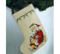 Traditional Santa Christmas Stocking - 41-2297