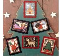 Folk Art Christmas Chart - 05-2498