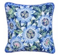 Blue Passion Flowers Tapestry - DM-192