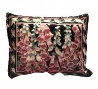 Pink Foxgloves Tapestry Cushion - Printed