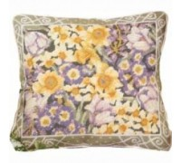Lady Spring Flowers Tapestry