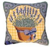 Lavender Tapestry Cushion - Printed
