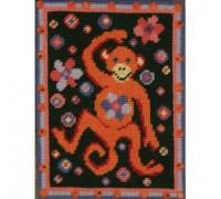 Marthas Monkey Tapestry - Printed