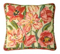 Peach Blossom Tulips Tapestry - DM-991