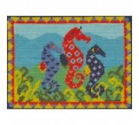 Sams Seahorses Tapestry - Printed