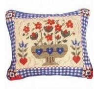 Shaker Flowers Tapestry - Printed