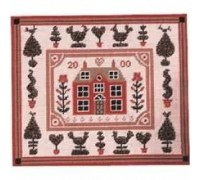 Shaker Little Red House Tapestry - Printed