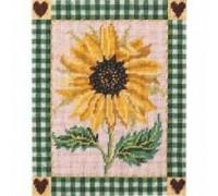 Shaker Sunflower Tapestry - Printed