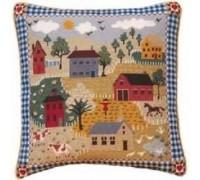 Shaker Village Tapestry - Printed