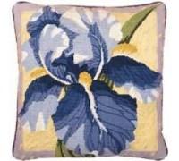 Single Iris Tapestry - Printed