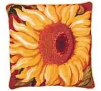 Single Sunflower Tapestry - Printed