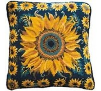 Sunflower Garden Tapestry - Printed