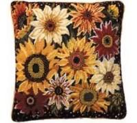 Sunflower Harvest Tapestry - Printed