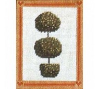 Topiary Globe Tree Tapestry - Printed