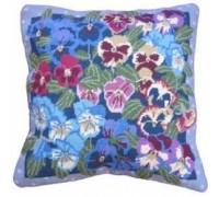 Winter Pansies Tapestry - DM-2101
