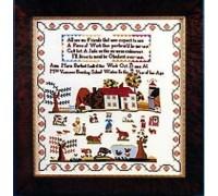 Anna Maria Barfoot 1804 Sampler