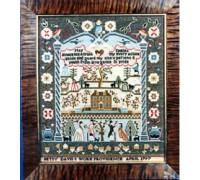 Betsy Davis 1797 Sampler