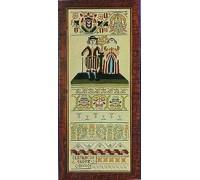 Elizabeth Short 1661 Sampler