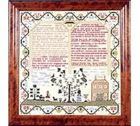 Rebecca Morris 1787 Sampler