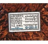 1840 Miniature Sampler - Silk Floss Kit