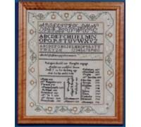 Abigail Bragdon 1832 Sampler