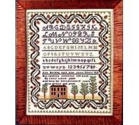 Ann Harding 1821 Sampler
