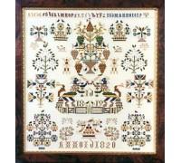 Dutch Sampler of 1819/1820 by I.D.