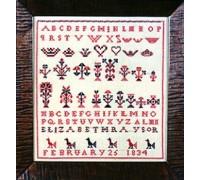 Elizabeth Raysor 1834 Sampler - Silk Floss Kit